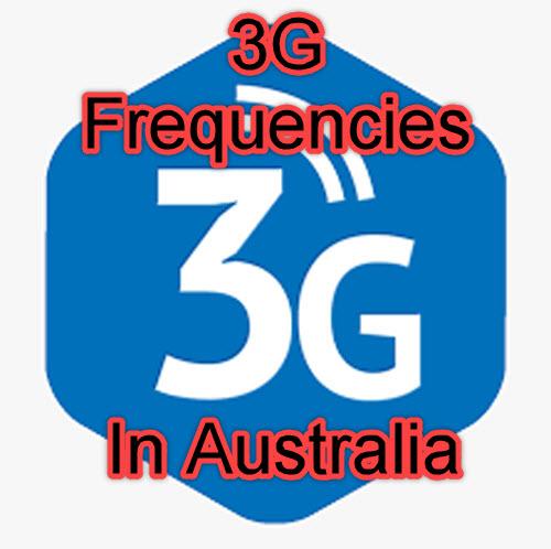 3G Frequencies Australia