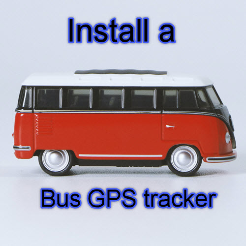 Fit a Bus GPS Tracker today