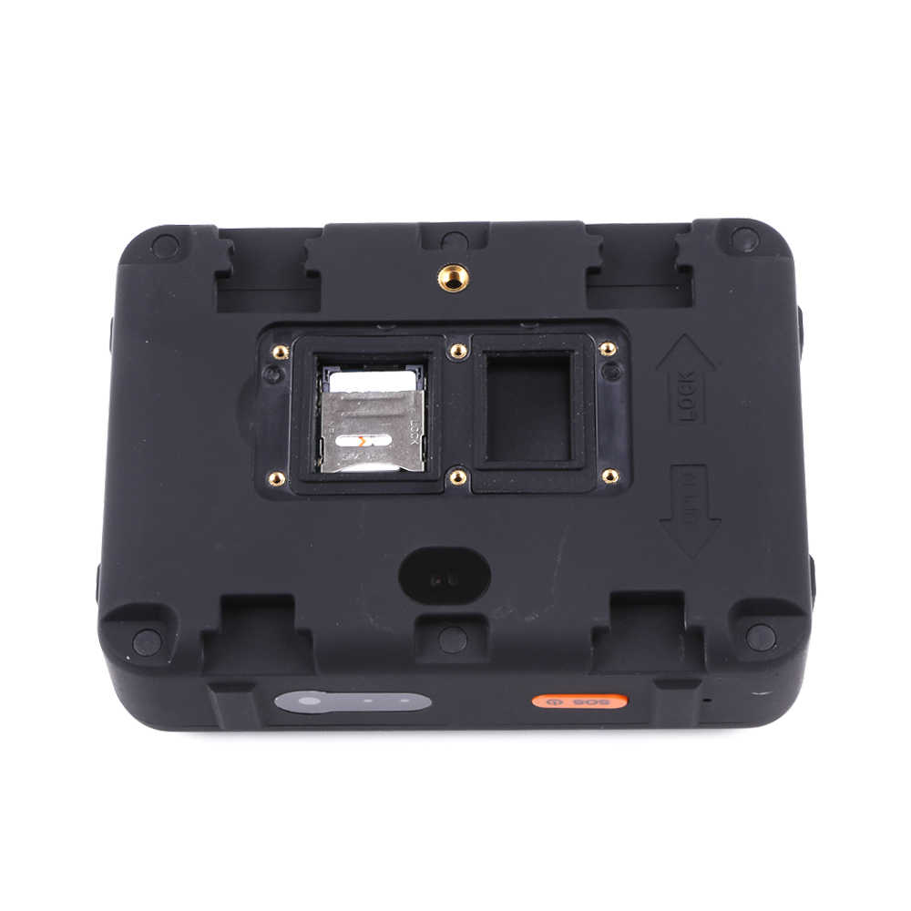 sim card slot of a solar gps tracker