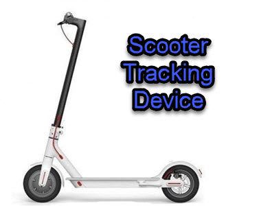 scooter tracking device installation