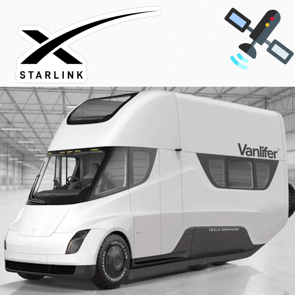 Elon wants Starlink internet into RVs, trucks, boats, and aircraft.